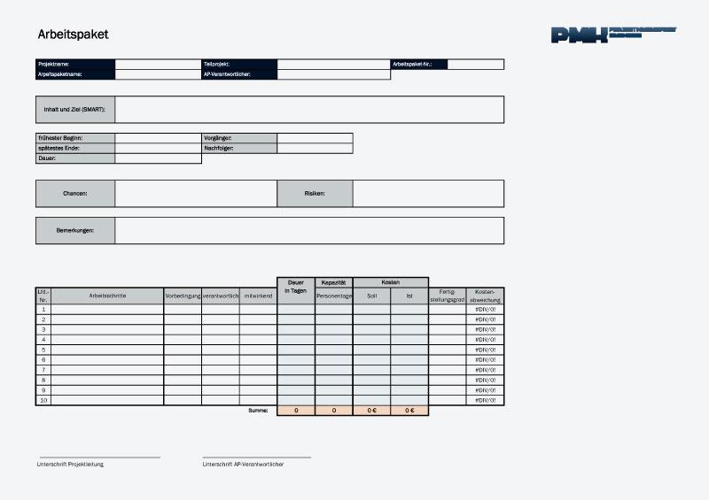 Download Templates Projektmanagement Handbuch