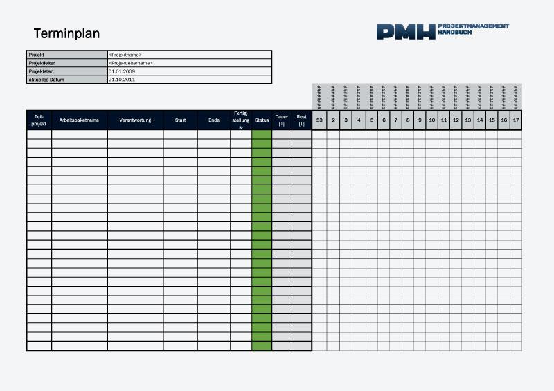 downloadtemplates projektmanagement handbuch